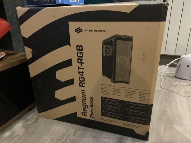 Obudowa komputerowa SilentiumPC RG4T stan bardzo dobry, 4x wentylator