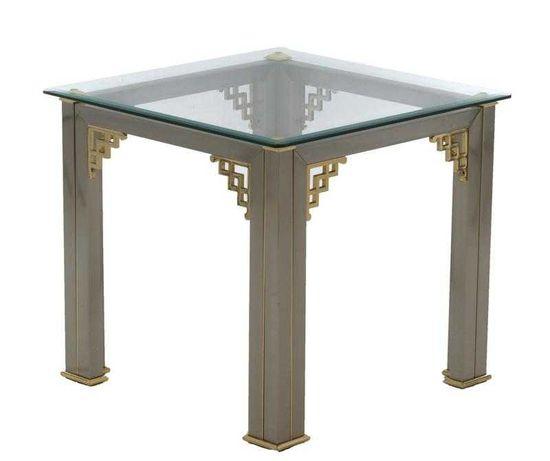 Mesa de apoio com vidro