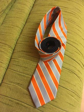 Krawat Jedwabny  Tommy  Hilfilger