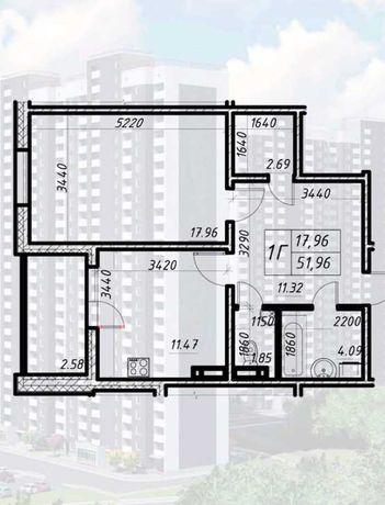 Продам 1к квартиру с ремонтом в ЖК Навигатор 2, без комиссии