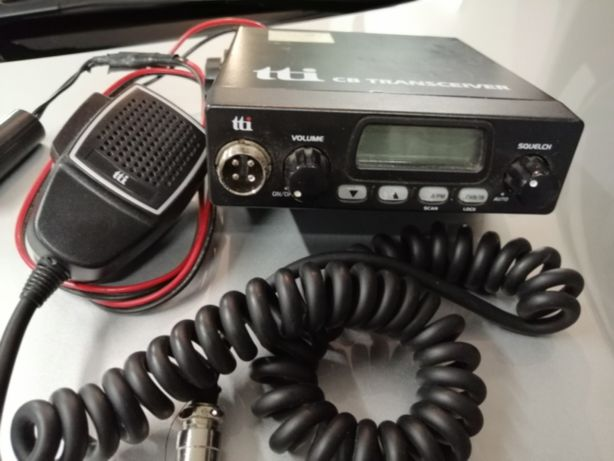 Radio CB tti TCB-550 + antena Canva 75cm
