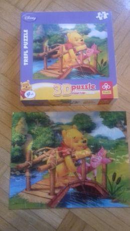 Puzzle 3D Trefl 48 elementów