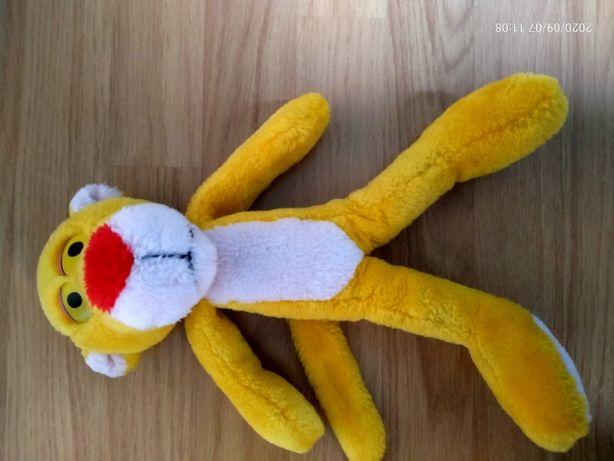 Żółty pluszak ok.29cm do stóp