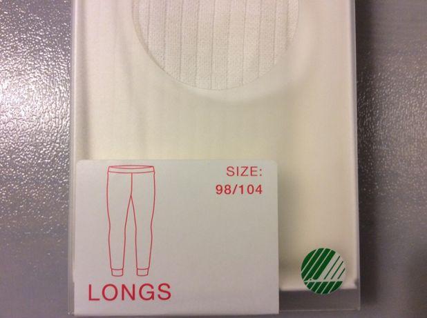 Spodnie z wełny merino i bawełny organicznej Cubus Ecru NOWE