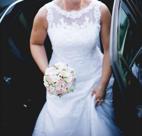 Piękna suknia ślubna Annais Bridal, EMILY roz. 38