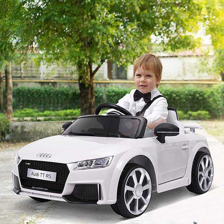 Audi TT Elétrico para criança (Branco ou Vermelho)