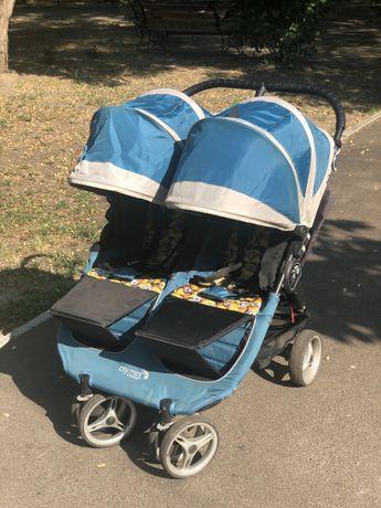 Коляска для двойни City Mini by Baby Jogger