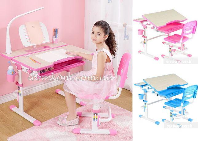 Комплект детская парта и стул FunDesk Lavoro. Детский письменный стол