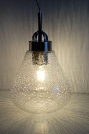 Lampa WESTINGHOUSE wisząca, sufitowa, nowa, szklany klosz, kryształowa