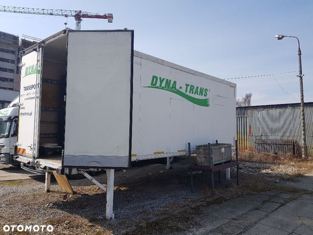 Zabudowa BDF Schmitz kontener