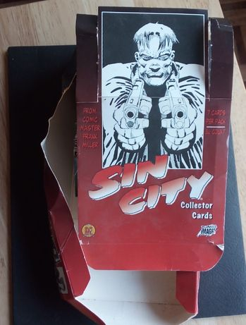 sin city collector cartas frank miller