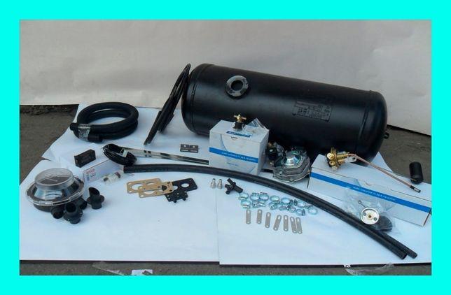Комплект ГБО-2: редуктор Tomasetto, 45л и индикаторной кнопкой Atiker