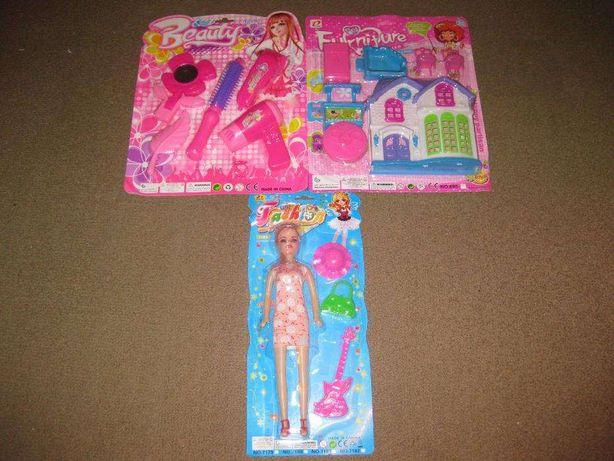 3 Brinquedos para Menina/Novos e Embalados!