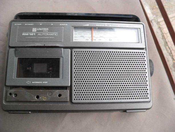 Radio magnetofon 121 unitra