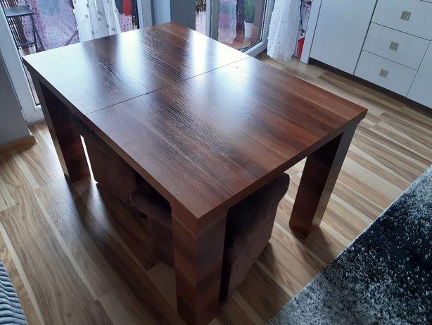 Ława rozkładana stół