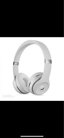 Sluchawki bezprzewodowe Beats satynowe srebro