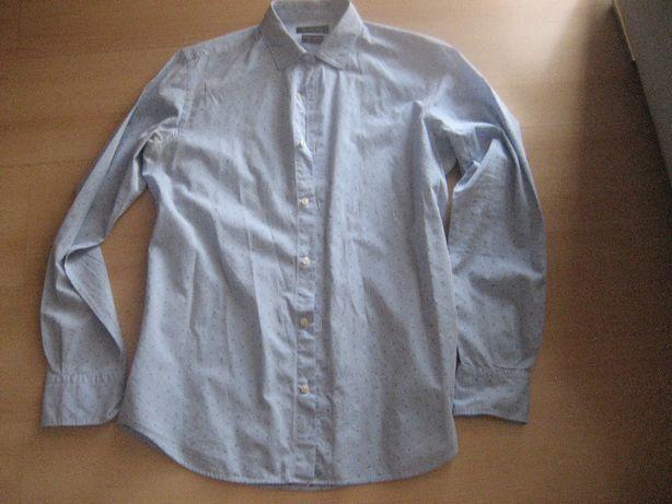Massimo Dutti - elegancka koszula w kropki M