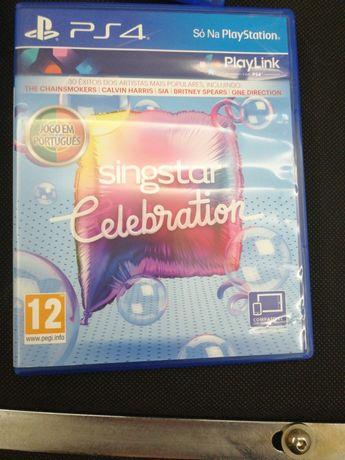 Singstar celebration para PS4 com selo