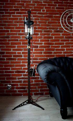 Unikatowa lampa styl industrial - loft - steampunk