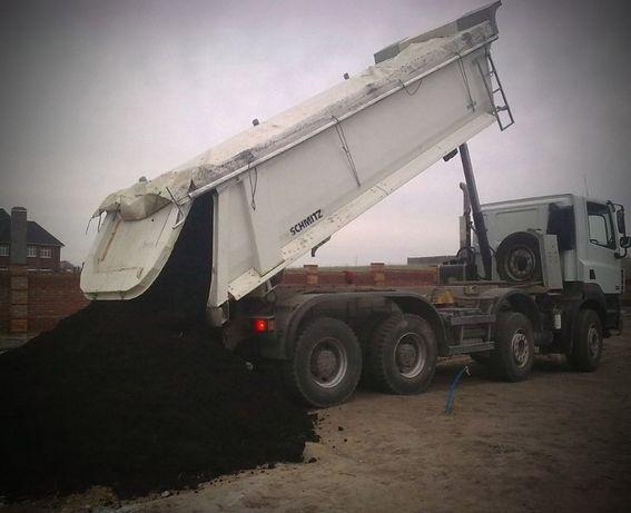 Чернозем с доставкой чернозем на дачу суглинок подсыпка бой кирпича