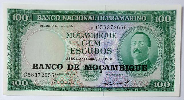 Mozambik UNC banknot