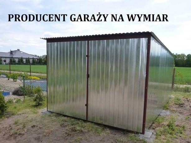 Garaż blaszany 3x4 Garaże blaszane 3x5 4x5 4x6 4x7 Blaszak Cała Polska