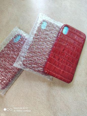 чехол для iphone 7 xr 11 x 8plus xsmax5 кожаный 11pro6s7plus