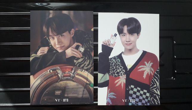 Karty pocztówki BTS x VT J-hope set