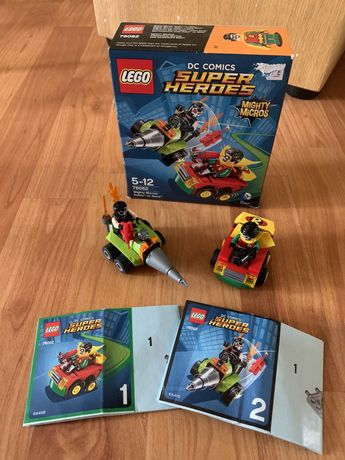 Конструктор LEGO Super Heroes Робин против Бэйна 76062, Лего