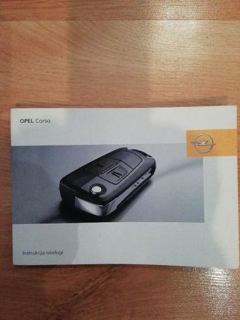 Książka instrukcja obsługi Opel Corsa