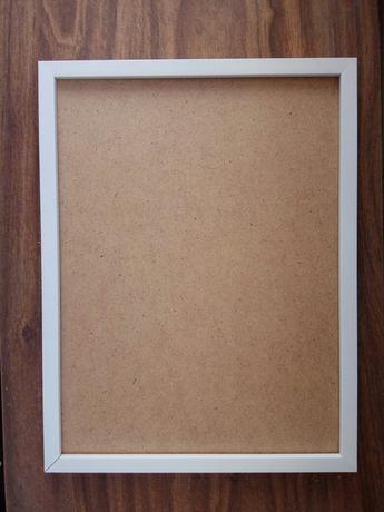 Рамка А3 30х40 фоторамка рама для фотографий фото диплом белая пластик
