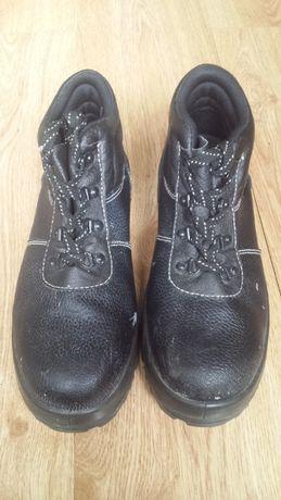 Buty robocze z blachą DEMAR r. 42/43 obuwie ochronne np. na budowę