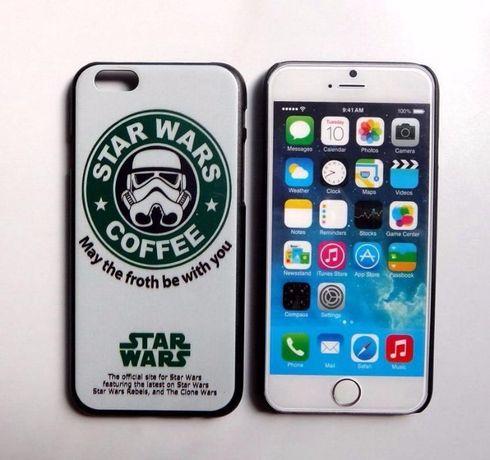 Capas iPhone 6 / 6s Star Wars COFFEE