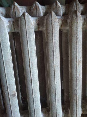 Чугунные радиаторы отопления. В наличии 26 рёбер.  Цена за 1 ребро.
