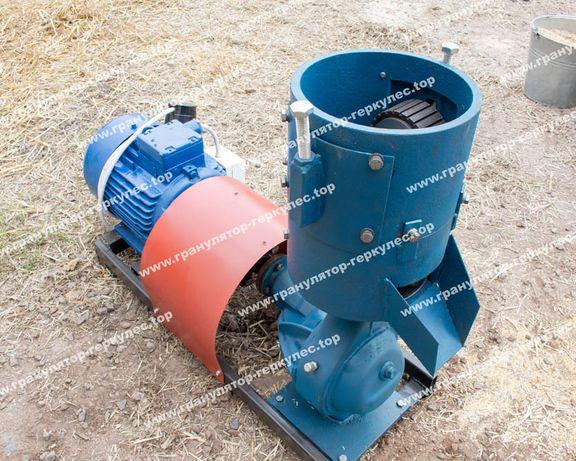 Сельхоз Гранулятор корма на (380V) От (100кг/час) Матрица (200mm)