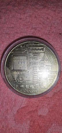 Монета BitCoin..