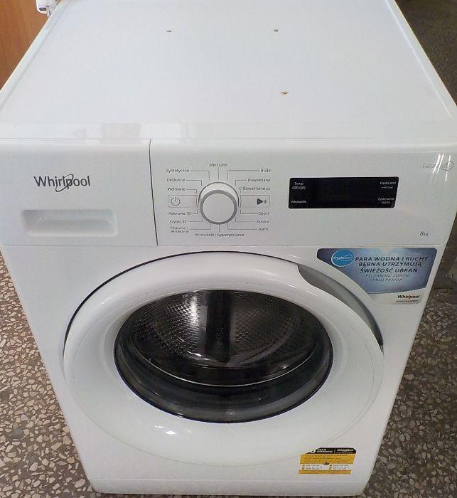 Pralka Whirlpool 8kg, używana Pyskowice - image 1