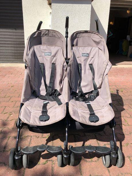 Wózek bliźniaczy spacerowy Peg Perego Pliko Mini Twin