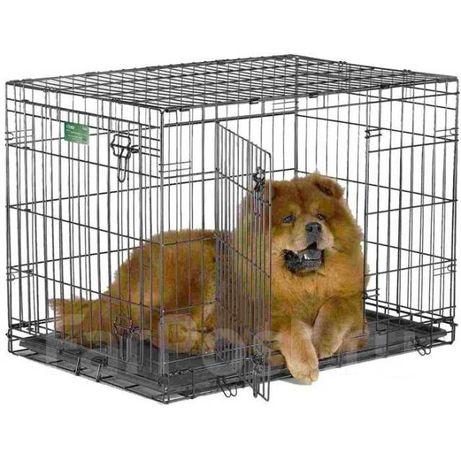 Клетка  2 двери для собак ZOOFARI 76×48×53 h см Германия
