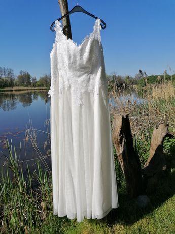 Suknia ślubna, gratis welon