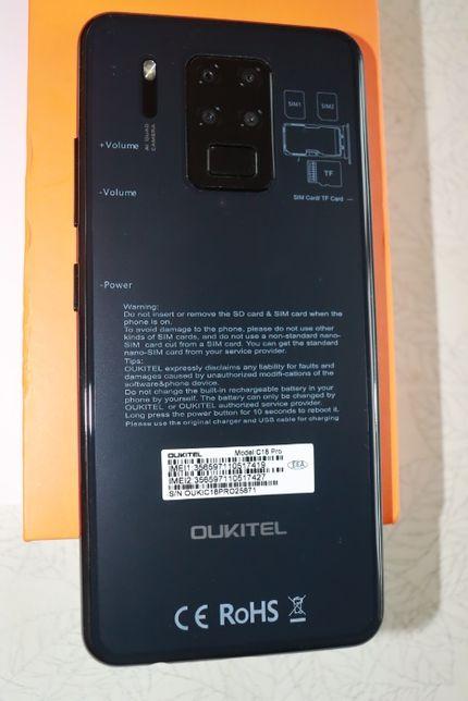 "Смартфон Oukitel C18 PRO 4GB/64GB Octa core 6.5""HD НОВЫЙ"