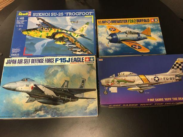 Vários kits - Tamiya, Hasegawa,Revell
