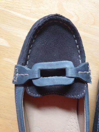 Mokasyny skórzane baleriny Footglove