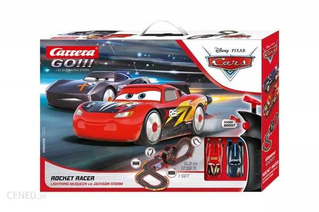 Carrera GO Rocket racer 5.3m Disney CARS