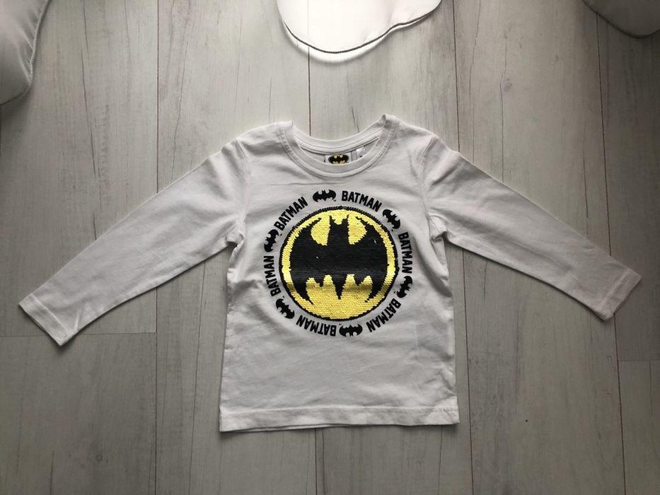 Bluzka z długim rękawem Batman, z cekinami - rozm. 98 Bytom - image 1