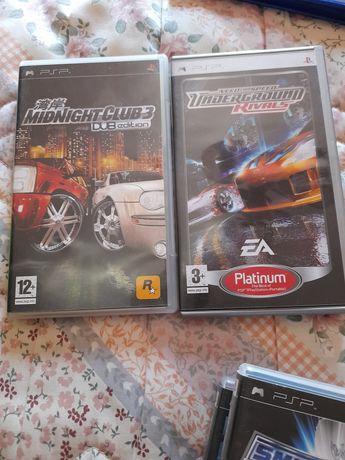 Vários  jogos playstation e PSP