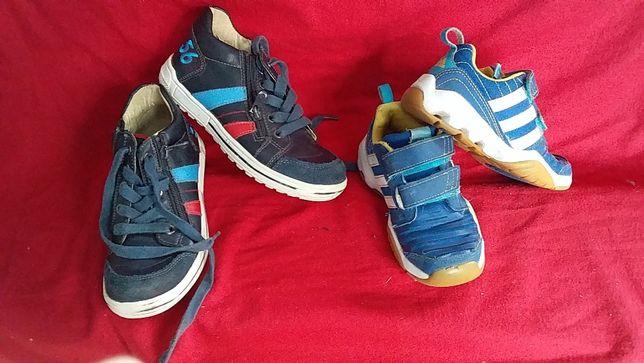 Кроссовки ,полуботинки,ботинки для мальчика кожа-BLOX-32; adidas-28