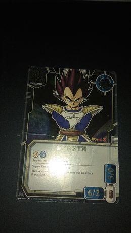 Karta Dragon Ball CCG Vegeta set 1