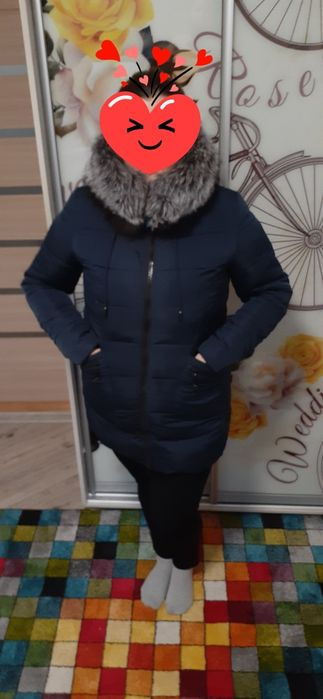 Куртка (пуховик) жіноча зимова Ирпень - изображение 1