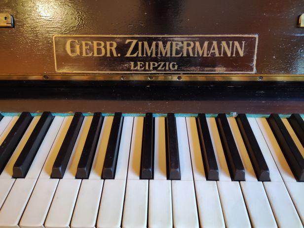 Pianino Zimmermann, około 100 letnie, wymaga renowacji